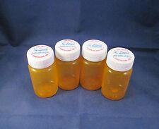 Lot of 4 Empty Clean VA Prescription Bottles ** Help a Vet ** for Crafts Storage