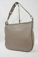 NWT Michael Kors Raven Large Leather Shoulder bag/Hobo in Cinder - Grey