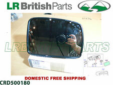LAND ROVER EXTERIOR MIRROR GLASS  RANGE ROVER 05-09 RH NEW CRD500180 NOT USA