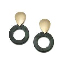 Boho Geometric Women Dangle Drop Hook Acrylic Resin Ear Stud Earrings Jewelry
