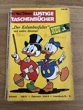 Lustiges Taschenbuch Ltb Nr. 1 Der Kolumbusfalter 2,50DM von 1967 Erstauflage