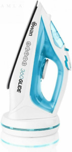Swan 2-in-1 Cord or Cordless Steam Press Iron, Rechargeable, Non-Stick...