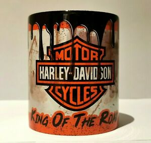 Oil Can Mug Harley Davidson Motorbike Coffee Mug Motorbike Accessory Retro Gifts