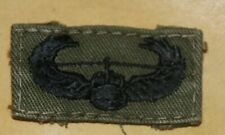 ORIGINAL US ARMY VIETNAM ARMY AIR ASSAULT WING SUBDUED CLOTH PATCH BADGE USED