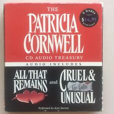 Patricia Cornwell All That Remains / Cruel & Unusual Audio 5CDs
