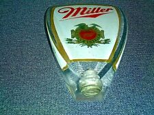 Vintage Miller America'S Quality Beer Acrylic Tap Handle, 3.5' Tall