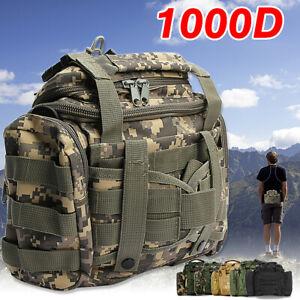 Large Fishing Tackle Bag Pack Outdoor Waist Shoulder Tote Lure Storage Bag Box
