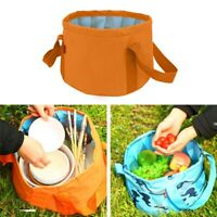 15L Folding Bucket Portable Camping Folding Basin Collapsible Outdoor Water Sink