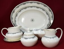 ROYAL DOULTON china ALBANY H5121 pattern 8-piece HOSESS SERVING Set