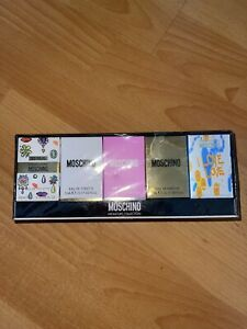 Five(5) Moschino Miniature Collection Perfume Gift Set