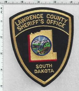 Lawrence County Sheriff (South Dakota) 3rd Issue Shoulder Patch