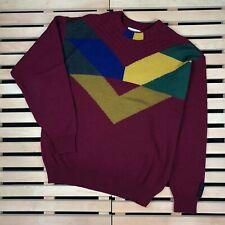 Mens Sweater Carlo Colucci Vintage Multicolor Size 50