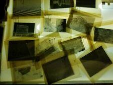 13 1940s-60s med & Lrg format 4X5 B&W Film Negatives Landscapes - Etc