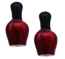 Red Nail Polish Bottle Stud Post Earrings Nail Salon Jewelry Manicurit Gift