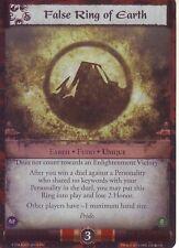False Ring of Earth L5R CCG CoM FOIL