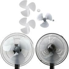 Plastic Fan Blade 3 Leaves W/Fan Nut for Standing Pedestal Fan Table Fanner 16In