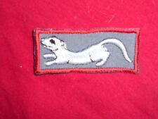 Aufnäher Frettchen weiß Applikation Abzeichen Patches Ferret animals Tiere Näher
