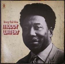 Muddy Waters - They Call Me Muddy Waters LP - 1977 US Re-issue - Chess