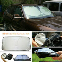 Car Sun Shade Shield Cover Foldable Visor UV Block Front Rear Windshield Window