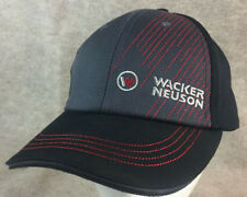Wacker Neuson Construction Machinery Equipment Adjustable Red Stitch Gray Black