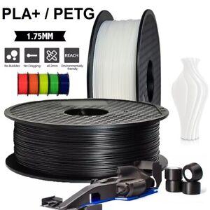 1,75mm PLA+ PETG Premium Filament 1KG Spule Rolle für 3D-Drucker 8 Farbe Printer