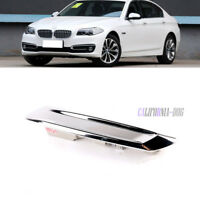 For BMW F10 13-16 Sedan Exterior Front Fender Trim Chromed Right 51137336646