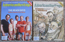 American Heritage History Magazines August September October 2004 Reagan Lincoln