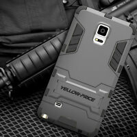 Heavy Duty Tough Shockproof With Stand Hard Case Cover For Samsung Galaxy Note 4