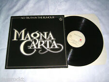 LP - Magna Carta No truth in the Rumours - MINT 1979 # cleaned