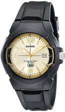 Casio Men's 10-Year Battery Life 100m Black Resin Watch MW600F-9AV