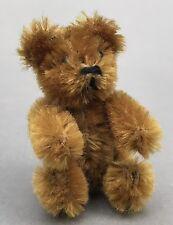Schuco Spielzeug 7 cm Miniatur Tier Teddy Bär #7300/7 Mohair auf Blechkörper ~55