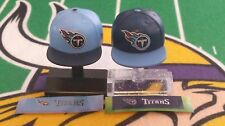 NFL Mad Lids Series 1 & 2 Tennessee Titans 2-pk (2 mini caps/stands/stickers)