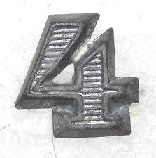 WW2 Original German Army Mid Size 4 NCO Shoulder Board Device