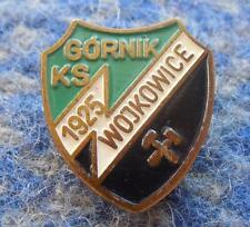 GORNIK WOJKOWICE POLAND FOOTBALL SOCCER CYCLING BOXING VOLLEYBALL 1980's PIN