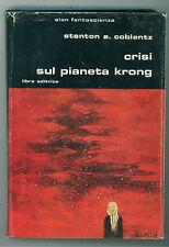 COBLENTZ STANTON A. CRISI SUL PIANETA KRONG LIBRA 1982 SLAN 67 FANTASCIENZA
