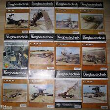 Neue Bergbautechnik Zeitschrift für Bergbau Geowissenschaften Jahrgang 1989