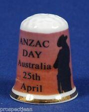 Anzac Day, Australia 25th April 'Exclusive' China Thimble B/81