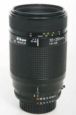 Nikon AF Nikkor 70-210mm f4-5.6 Telephoto Zoom Lens * Mint