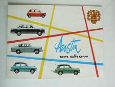 catalogue automobile AUSTIN on show ( A40 A55 A99 saloon /  AUSTIN SEVEN )
