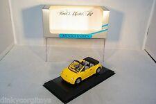 MINICHAMPS VW VOLKSWAGEN NEW BEETLE CONCEPT CAR CABRIOLET 1994 MIB RARE SELTEN!!