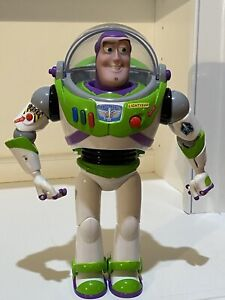 "Thinkway Disney Pixar Toy Story 4 12"" Buzz Lightyear Talking Action Figure"