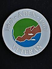 Aden Emergency Colours Lapel Pin