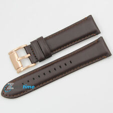 New Original FOSSIL Replacement Watch Strap FS4991 Brown Genuine Leather 22mm