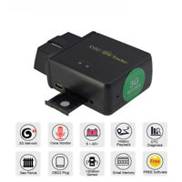 Car Truck GPS Real Time Tracker OBDII OBD2 Tracking Device For Android IOS APP