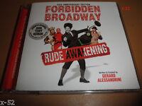 FORBIDDEN BROADWAY - RUDE AWAKENING cd Gerard Alessandrini Mary Poppins Yoko Ono