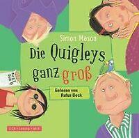 Die Quigleys ganz groß: 2 CDs von Mason, Simon | Buch | Zustand gut