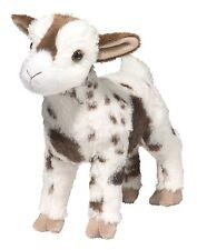 "Douglas Gerti GOAT 9"" Plush Stuffed Farm Animal Gertie Goat Cuddle Toy NEW"