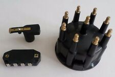 BLACK Ready-To-Run/Small HEI Replacement Distributor Cap,Rotor & module TSP 88.5