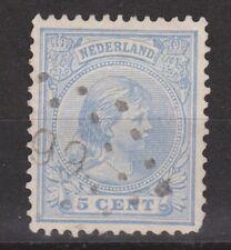 NVPH Netherlands Nederland 35 TOP CANCEL SNEEK (99) Wilhelmina 1891