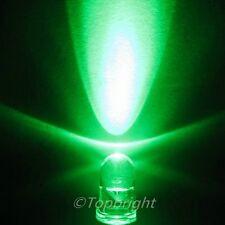 50 PCs MegaBright Green Led 5mm 28,000mcd!Free R&SH